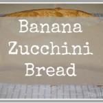 Banana Zucchini Bread using Steviva