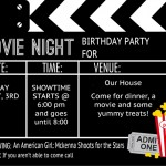 It's a Movie Birthday Party