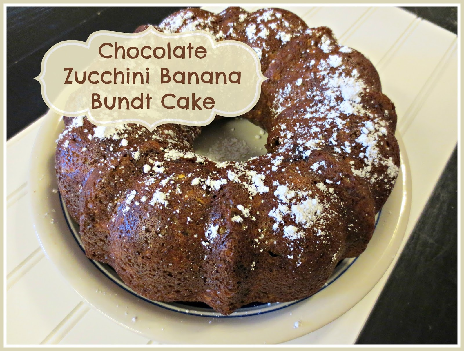 Chocolate-Banana Bundt Cake Recipe — Dishmaps