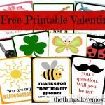 10 Free Printable Valentine Cards