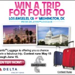 Win a Family Vacation and Travel using Atlantic Luggage