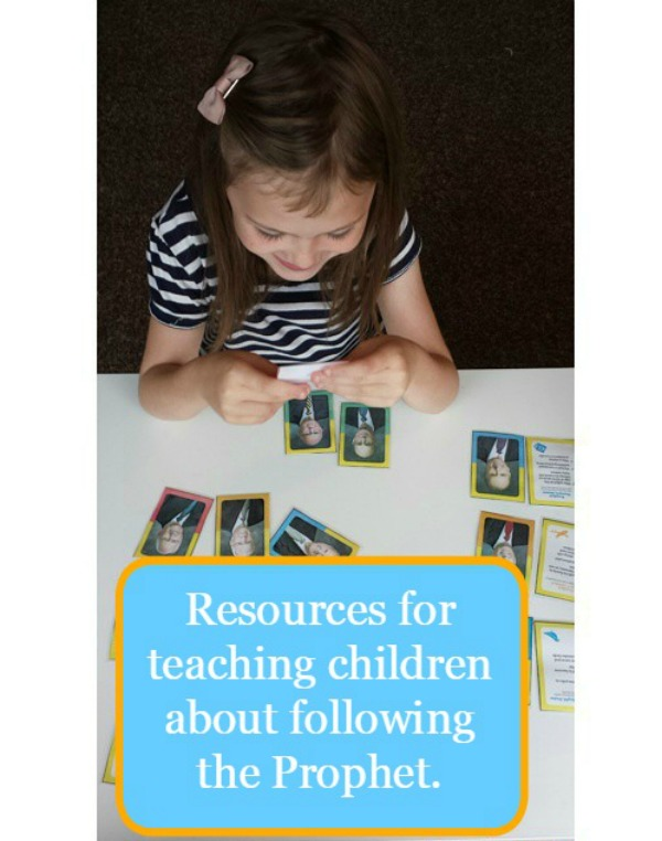 Resources for teaching children about following the prophet
