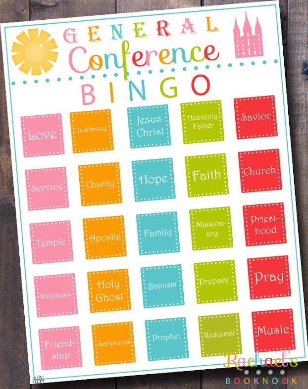 General Conference Bingo