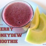 Cherry Honeydew Smoothie