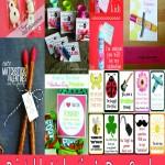 Valentine Card Roundup – Free Printable Valentines