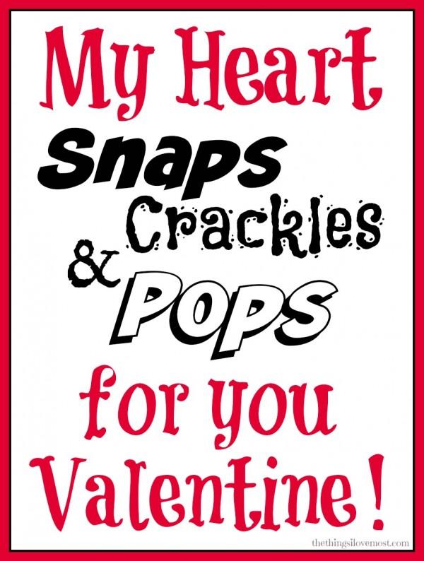 snap crackle pops