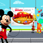 Encourage Creativity with Disney Imagicademy: Mickey's Magical Arts World