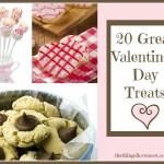 20 Great Valentine's Day Treats to Share  {Guest Post: Alyssa Craig}