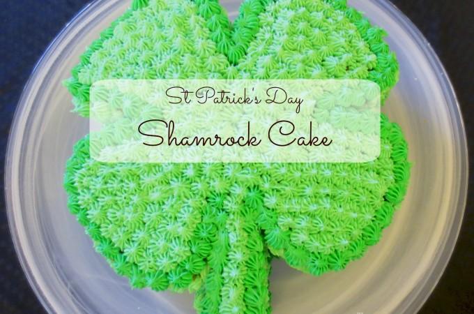 shamrock cake -2