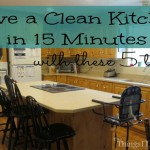 Have a Clean Kitchen in 15 Minutes