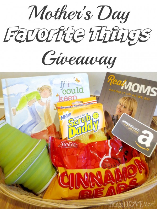 Mother's Day Favorite Things Giveaway!
