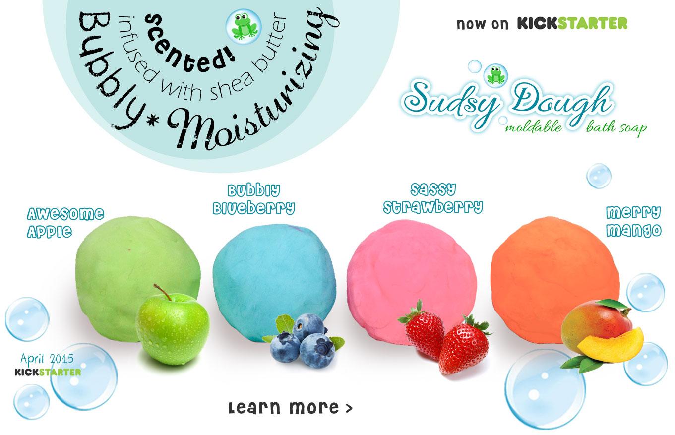 Sudsy Dough moldable bath soap
