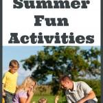 40 Free Summer Fun Activities