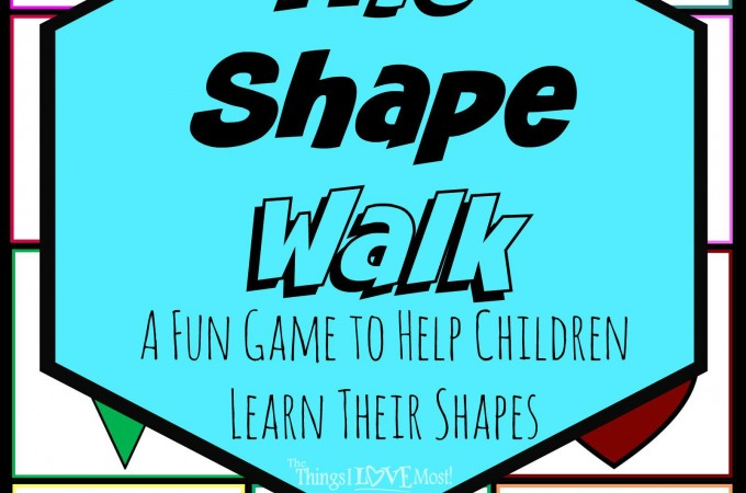 Learning Shapes While Having Fun – Free Printable Pre-K Learning Games