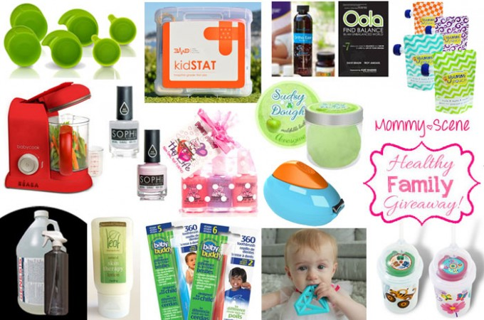 Healthy Family Giveaway