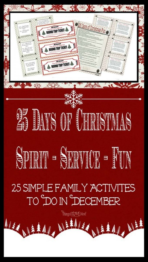 25 Days of Fun Christmas Activities