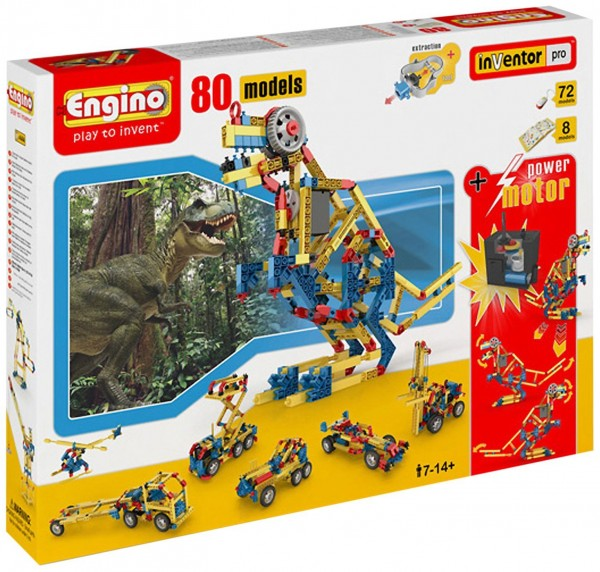 Engino 80 Model Construction Set with Motor