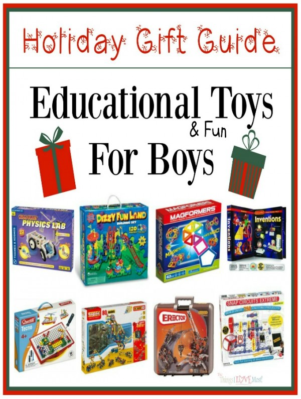Educational Toys For Boys - Holiday Gift Guide