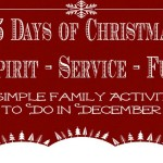 25 Days of Christmas Activities for Each Day in December