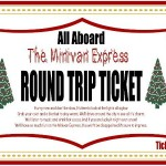 All Aboard the Polar Express in your Minivan