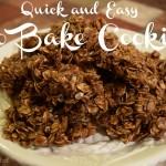Delicious No Bake Cookies