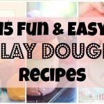 15 Fun and Easy Play Dough Recipes