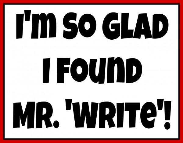 Mr. Write - Easy Valentine's Day Gifts