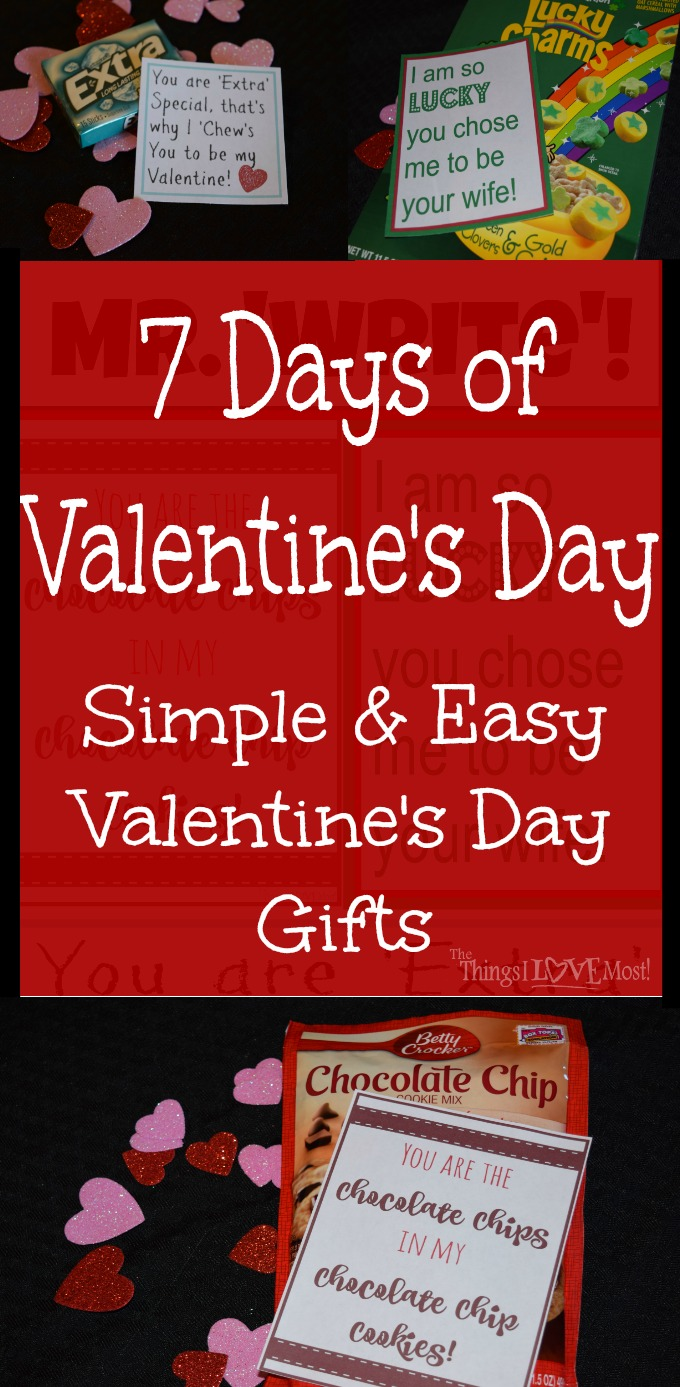 Simpe and easy Valentine's Day Gifts