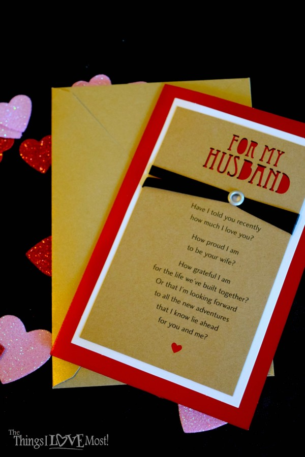 The Gift of a Valentine's Card - Easy Valentine's Day Gifts