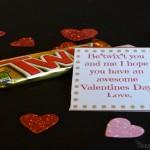 Twix Bar Valentine's Gifts