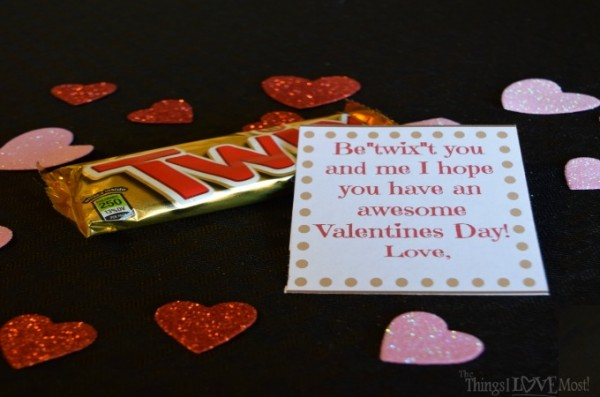 Twix Bar Valentine's Gifts