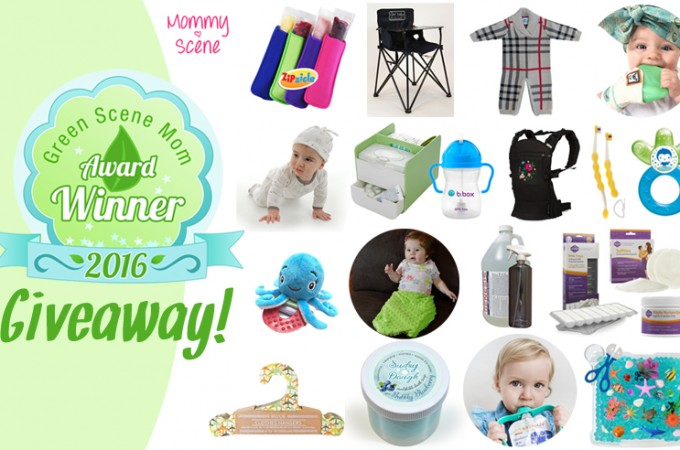 Winter Green Scene Mom Awards Giveaway