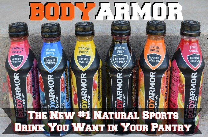 BODYARMOR – The New #1 Natural Sports Drink You Want in Your Pantry