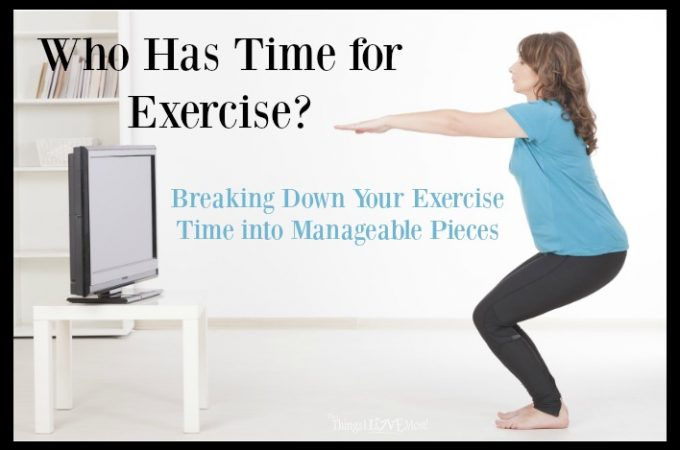 Who Has Time for Exercise?