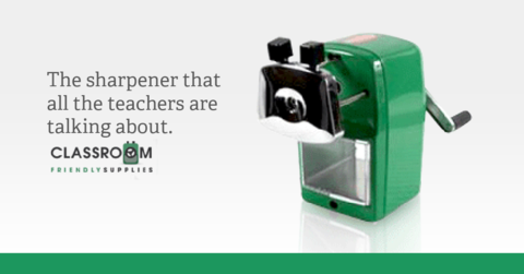 The Best Pencil Sharpener Ever