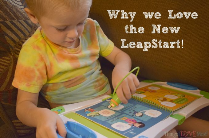 Why we LOVE the New LeapStart
