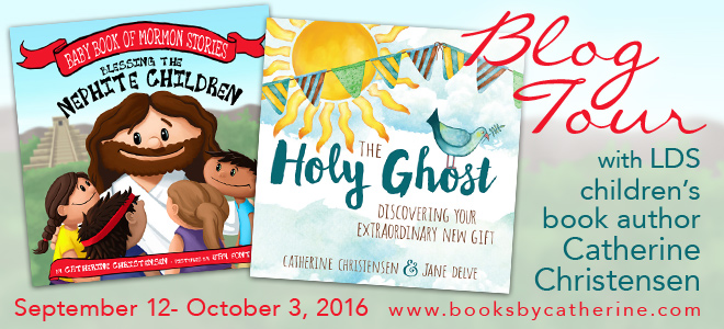 Blessing the Nephite Children and The Holy Ghost blog tour