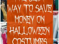 The Best Way to Save Money on Halloween Costumes