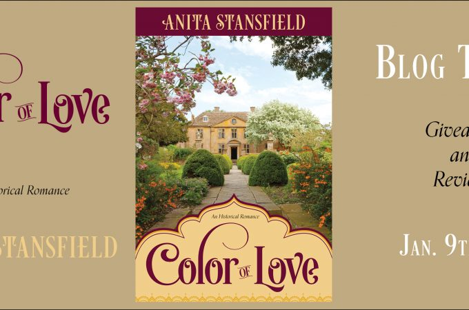 """""""Color of Love""""by Anita Stansfield Book Tour + Giveaway"""