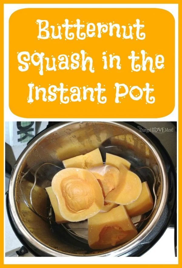 Butternut Squash in the Instant Pot
