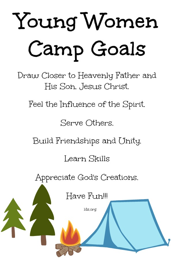Girls Camp - Ideas for Today's Leaders