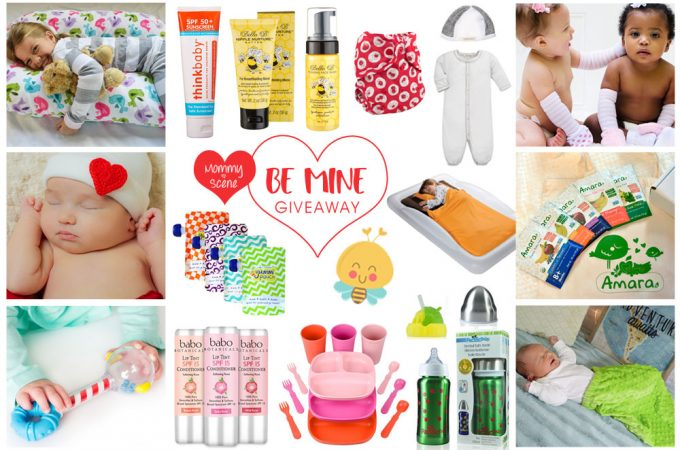 Be Mine – Valentine's Day Inspired Family Essentials Giveaway