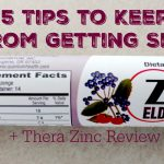 5 Tips to Keep From Getting Sick + Thera Zinc Giveaway