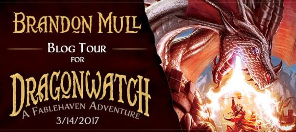 Dragonwatch by: Brandon Mull BLOG TOUR