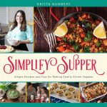 Simplify Supper Cookbook by Krista Numbers {Book Review}
