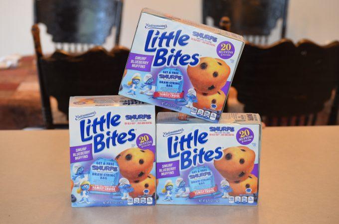 ENTENMANN'S® LITTLE BITES® SMURF BLUEBERRY MUFFINS