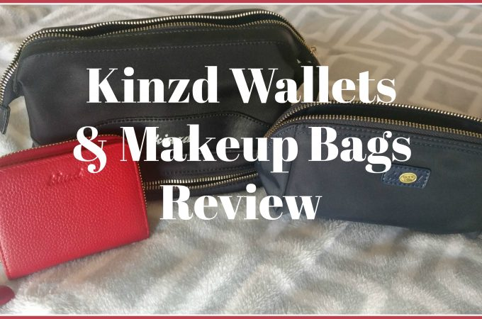 Kinzd Wallets & Makeup Bags Review & Giveaway