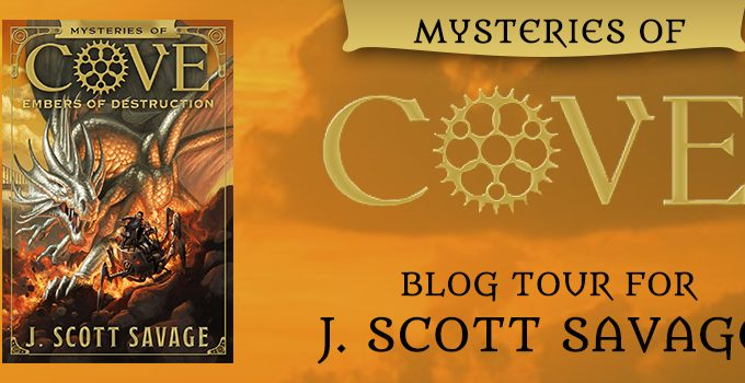 Mysteries of Cove, Book 3: Embers of Destruction by J. Scott Savage {Book Review}