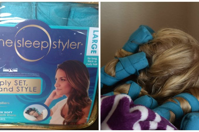 The Sleep Styler – Curl Your Hair While You Sleep