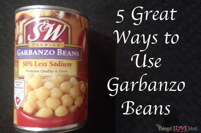 5 Great Ways to Use Garbanzo Beans